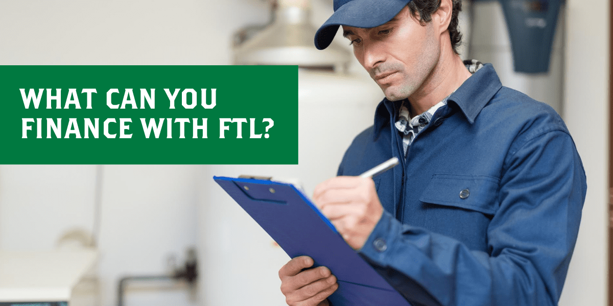 What can you finance with FTL?